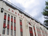Photo:  Qwghlm, <a href='https://commons.wikimedia.org/wiki/File:Arsenal_Stadium_Highbury_east_facade.jpg' target='_blank'>Wikimedia</a> (<a href='https://creativecommons.org/licenses/by-sa/3.0/deed.en' target='_blank'>CC BY-SA 3.0</a