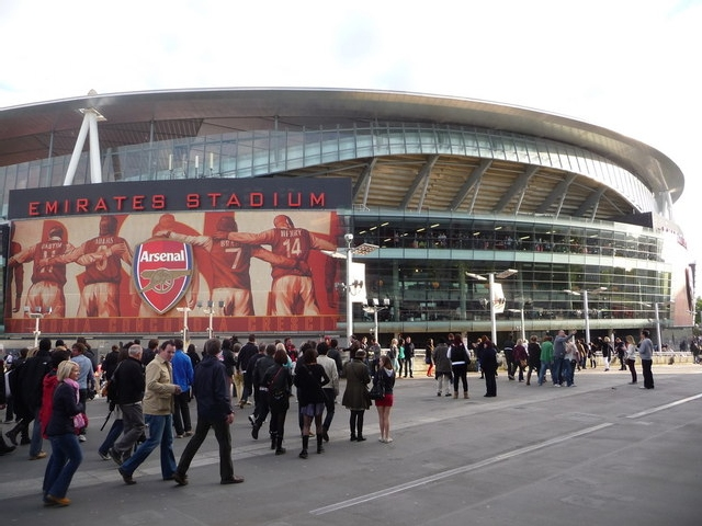 emirates stadium Check out the arsenal fc museum tour : twitter:  .